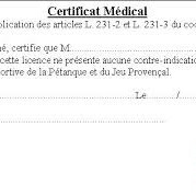 Certificat Medical Portail De La Ffpjp